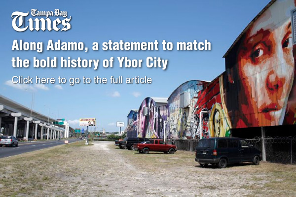 Welcome to the adamo drive mural project for City of tampa mural